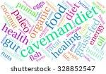 caveman diet word cloud on a... | Shutterstock . vector #328852547