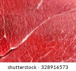Raw Red Beef Meat Macro Textur...