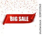 Big Sale Vector Banner. Red...