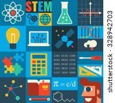 Illustration Of Stem Education...