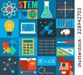 Illustration Of Stem Education...