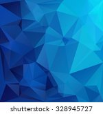 blue polygonal mosaic... | Shutterstock .eps vector #328945727
