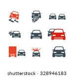 auto icons | Shutterstock .eps vector #328946183