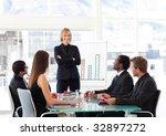 multi ethnic business people...   Shutterstock . vector #32897272