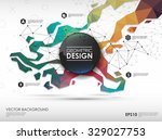 concept background with... | Shutterstock .eps vector #329027753