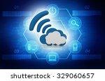 cloud computing concept | Shutterstock . vector #329060657