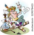 vector cartoon illustration of... | Shutterstock .eps vector #329078423