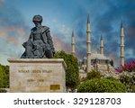 statue of master ottoman... | Shutterstock . vector #329128703