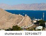 view of the taba border... | Shutterstock . vector #329148677