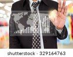 businessman standing posture... | Shutterstock . vector #329164763