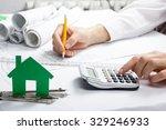 real estate concept  model... | Shutterstock . vector #329246933