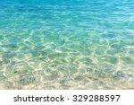shining blue water ripple... | Shutterstock . vector #329288597