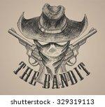 the bandit and revolver gun...