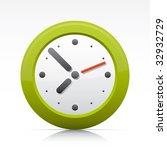 time clock. vector in adobe...