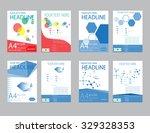 design cover paper report.... | Shutterstock .eps vector #329328353