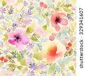 seamless spring pattern....   Shutterstock . vector #329341607