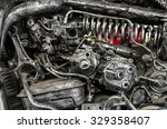 Old Machine Steel Vintage Spar...
