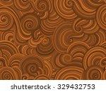 vector endless texture stylized ... | Shutterstock .eps vector #329432753