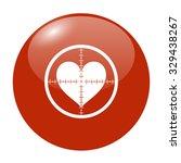 illustration of a crosshair... | Shutterstock . vector #329438267