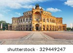 dresden   semperoper  germany | Shutterstock . vector #329449247