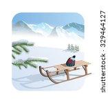 winter   Shutterstock .eps vector #329464127