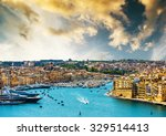 beautiful panoramic view on...   Shutterstock . vector #329514413