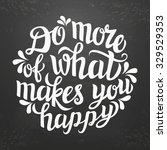 hand lettering typography... | Shutterstock .eps vector #329529353