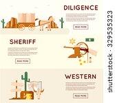 Wild West Cowboys  Stagecoach...