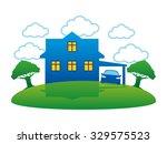 vector sign. house.   Shutterstock .eps vector #329575523