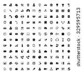 communication icons set | Shutterstock .eps vector #329595713