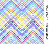 seamless tribal zigzag pattern... | Shutterstock .eps vector #329654933