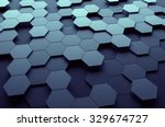abstract 3d rendering of... | Shutterstock . vector #329674727