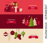 christmas concept illustrations | Shutterstock .eps vector #329686367