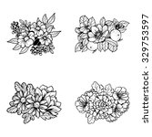 flower set | Shutterstock . vector #329753597