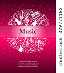 music background with... | Shutterstock .eps vector #329771183