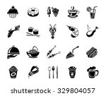 food icons   Shutterstock .eps vector #329804057
