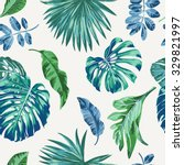 seamless exotic pattern with... | Shutterstock .eps vector #329821997