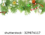 christmas decoration  holiday... | Shutterstock . vector #329876117