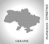 map of ukraine | Shutterstock .eps vector #329887463