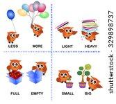 opposite word vector background ... | Shutterstock .eps vector #329898737
