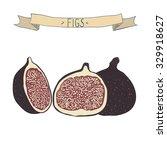 vector illustration of  figs....   Shutterstock .eps vector #329918627
