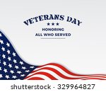 veterans day and white... | Shutterstock . vector #329964827