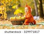 Cute Baby Boy Dressed In Fox...