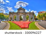 Colorful Image Of Puerta De...