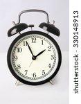 round black mechanical clock on ... | Shutterstock . vector #330148913