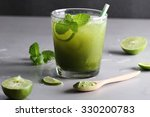 Iced Green Tea With Lime And...