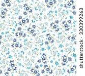 abstract vector small blue... | Shutterstock .eps vector #330399263