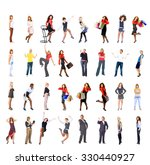 united colleagues big group  | Shutterstock . vector #330440927