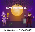 vector  for halloween in... | Shutterstock .eps vector #330465047