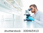 young scientist investigating... | Shutterstock . vector #330465413